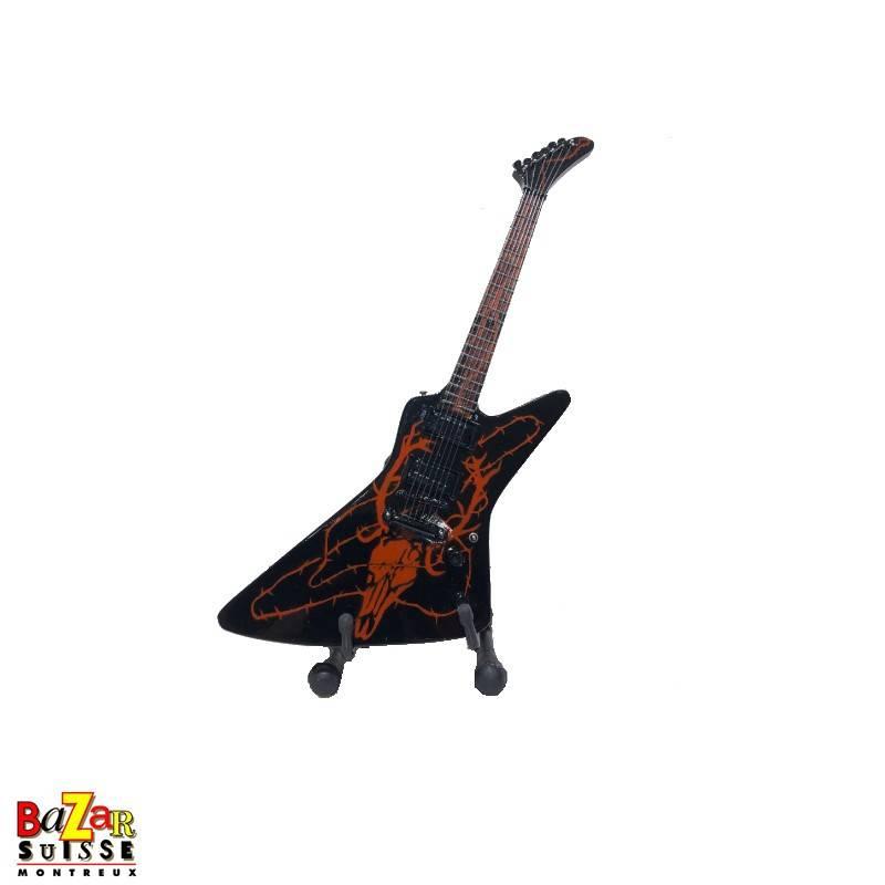 James Hetfield / Metallica - wooden mini-guitar