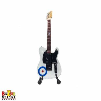 Pete Townshend - wooden mini-guitar