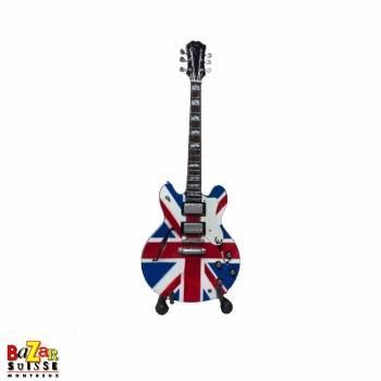 Noel Gallagher - Oasis - wooden mini-guitar