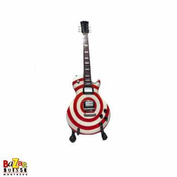 Zakk Wylde - wooden mini-guitar