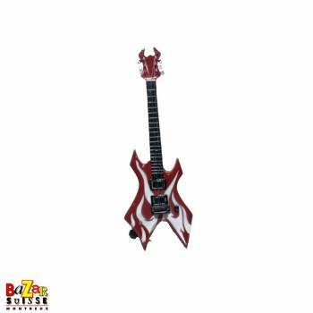 Kerry King - wooden mini-guitar
