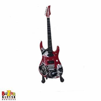 Jimmy Page / Led Zeppelin - wooden mini-guitar