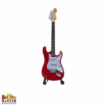Mark Knopfler - wooden mini-guitar
