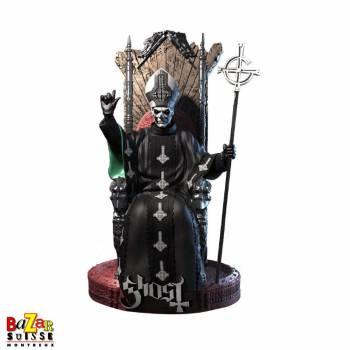 Ghost Papa Emeritus II - figurine Rock Iconz de Knucklebonz