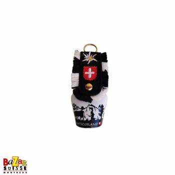 White bell with poya motif