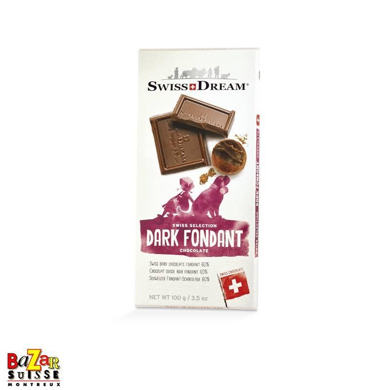 Swiss Dream Swiss Chocolate - fondant dark