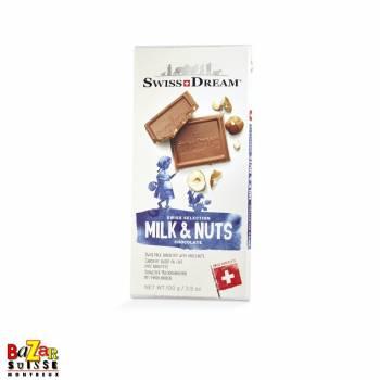 Swiss Dream chocolat suisse - lait et noisettes