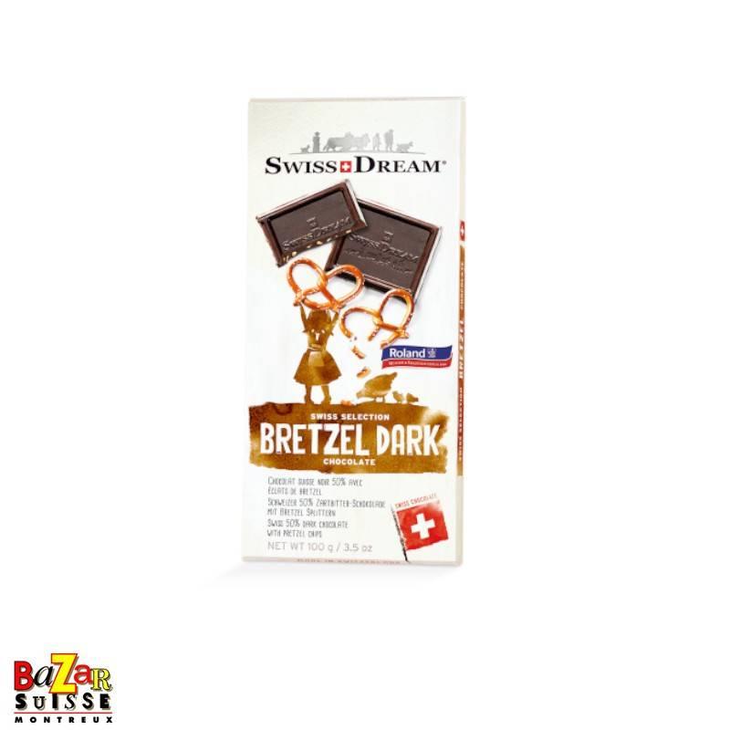 Swiss Dream Swiss Chocolate - dark pretzel