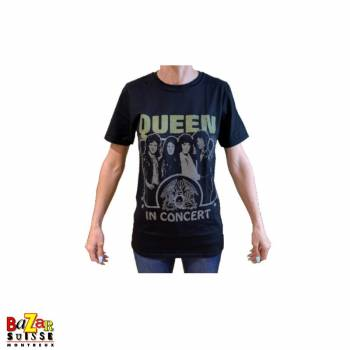 T-shirt Queen in concert