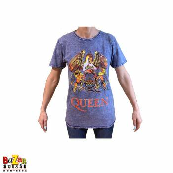 T-shirt Queen Crest Denim