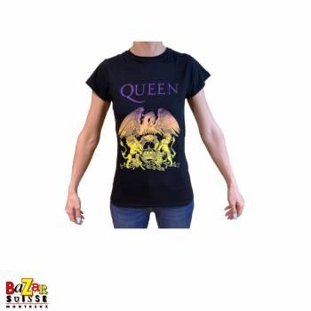 Woman T-shirt Queen Crest