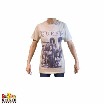 T-shirt Queen vintage frame