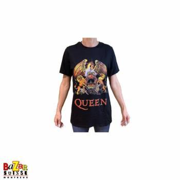 T-shirt Queen Crest noir