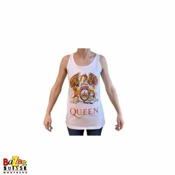 T-shirt man Queen Crest