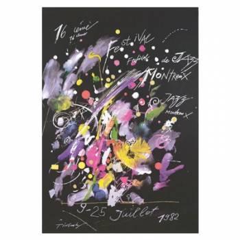 Poster Montreux Jazz Festival 1977