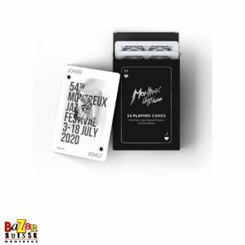 Montreux Jazz Festival playing cards