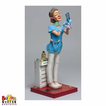 Mme dentiste figurine Forchino