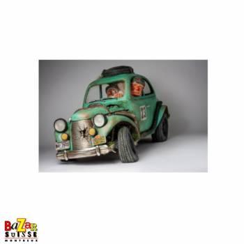 La voiture de rallye - figurine Forchino