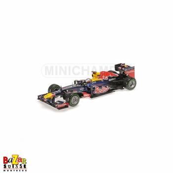 Red Bull Renault RB8 F1 Brésil 2012 Sebastian Vettel 1:18 de Minichamps