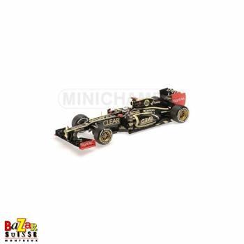 Lotus Renault E20 F1 Abu Dhabi 2012 Kimi Raikkonen 1:18 de Minichamps