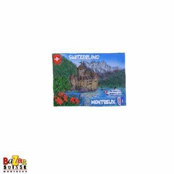 Decorative magnet - Montreux/Chillon