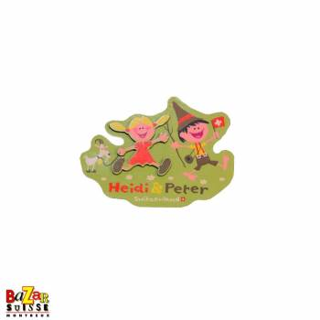 Decorative magnet - Heidi & Peter