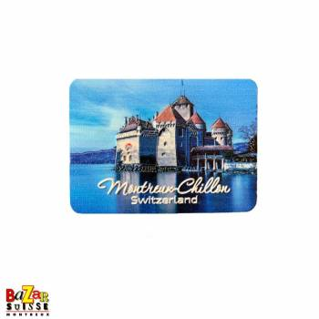 Decorative magnet - Montreux/Chillon