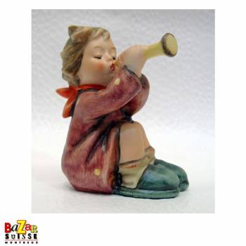 Figurine Hummel Girl with Trumpet