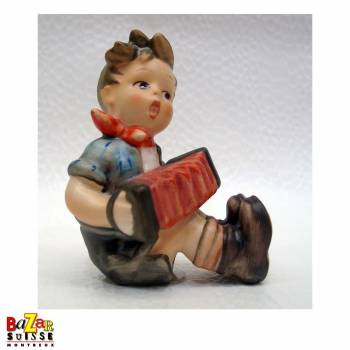 Hummel Figurine Boy with accordion