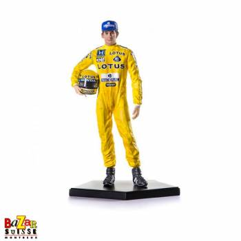 Figurine Ayrton Senna vainqueur F1 Monaco 1987