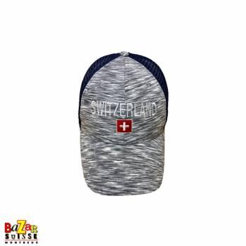Switzerland grey cap