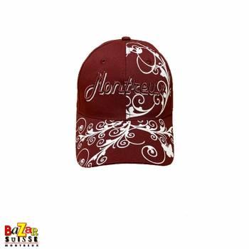 Burgundy Montreux cap