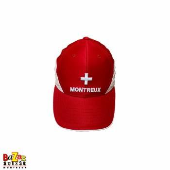 Casquette rouge Montreux