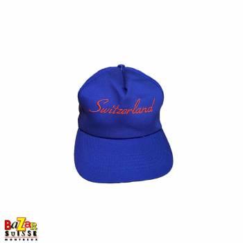 Blue Switzerland cap