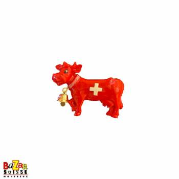 Decorative fridge magnet - red cow