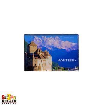 Aimant décoratif Montreux/Chillon