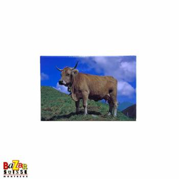 Decorative fridge magnet - cow