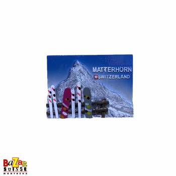 Decorative fridge magnet - Matterhorn Switzerland
