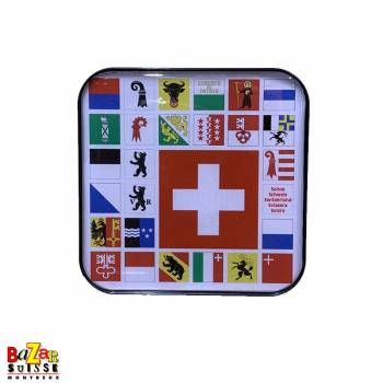Decorative fridge magnet - Swiss cantons