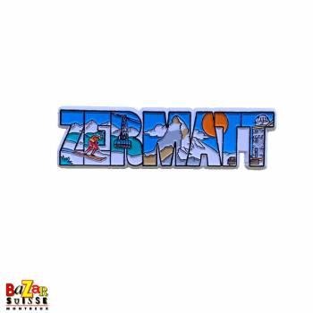 Decorative fridge magnet - Zermatt