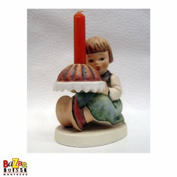 Hummel Figurine Birthday Cake