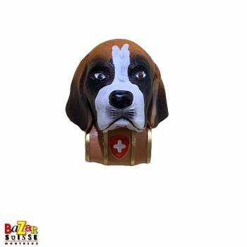 Decorative fridge magnet - St.-Bernard