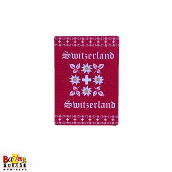 Decorative fridge magnet - Switzerland