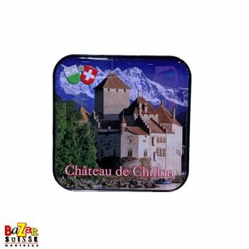 Aimant décoratif sous-verre Château de Chillon
