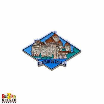 Decorative fridge magnet - Château de Chillon