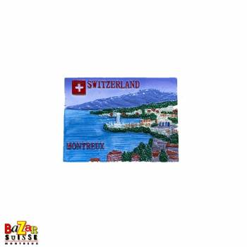 Decorative fridge magnet - Montreux