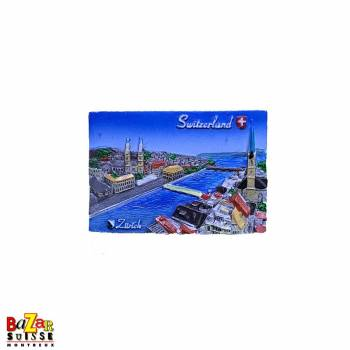 Decorative fridge magnet - Zurich