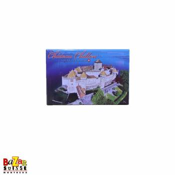 Decorative fridge magnet - Château de Chillon