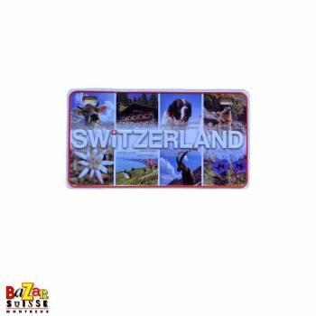 Aimant décoratif plaque de voiture - Swiss emblems