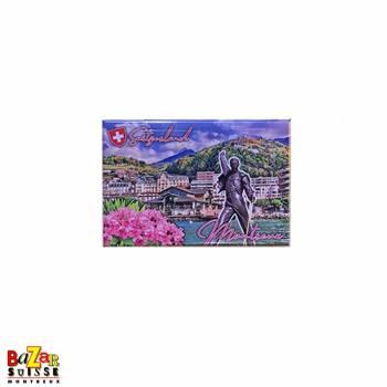 Aimant décoratif Montreux/Freddie Mercury